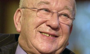 Roy Barraclough appears on 'Today With Des and Mel' in 2003.