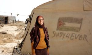 Woman in Susiya village