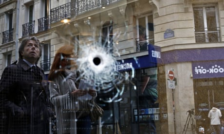 Paris knifeman shot dead after killing one and injuring four