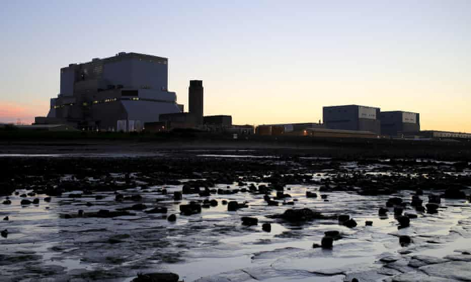 Hinkley Point B and A power stations