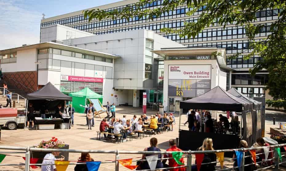 The city campus at Sheffield Hallam University.