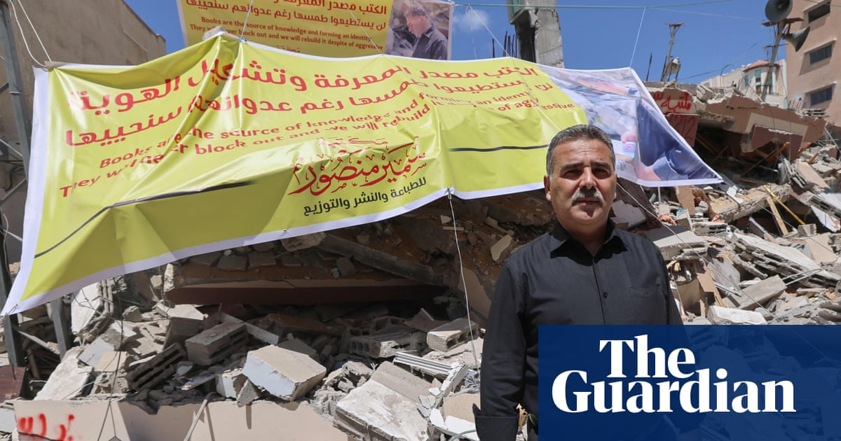 Donations flood in to restore Gaza bookshop destroyed by Israeli airstrikes