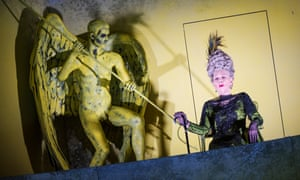Felicity Palmer (The Countess) in the English National Opera's production of The Queen Of Spades by Tchaikovsky.