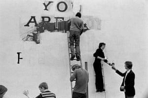 Flyposters, Derry, Northern Ireland, 1979