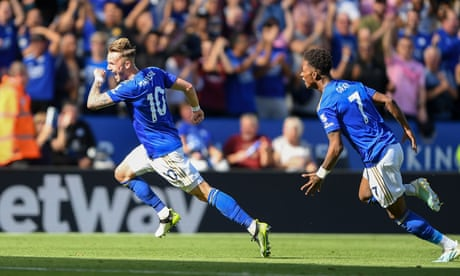 Leicester's fast start continues as James Maddison sinks Spurs with late stunner