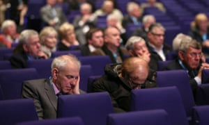 Delegates at the 2017 Scottish Conservative conference in Glasgow.