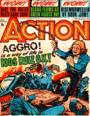 Kids Rule OK! was the story that 'got us banned', says Action's editor Pat Mills