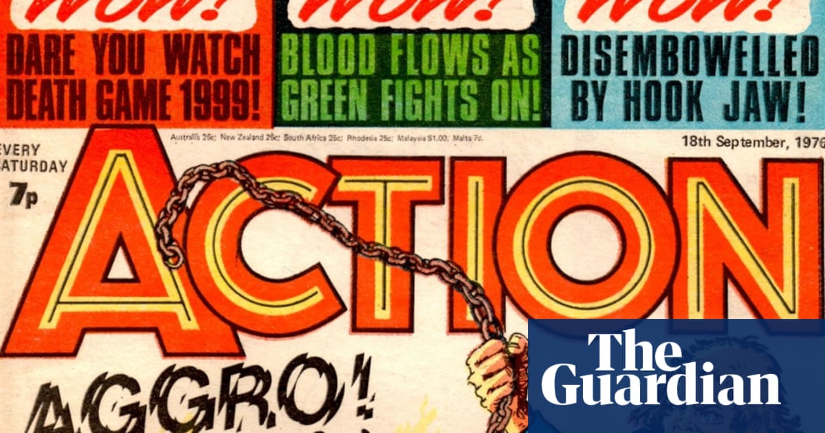 Too much action: how kids' comic Action drowned in its own