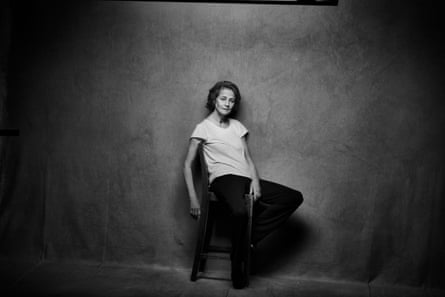 Charlotte Rampling photographed in London, 2016, by Peter Lindbergh for the 2017 Pirelli calendar.