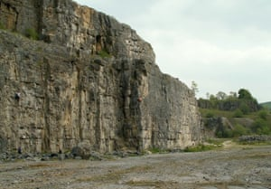 Furness Quarry in Middleton Dale is known to rock climbers as Horseshoe Quarry