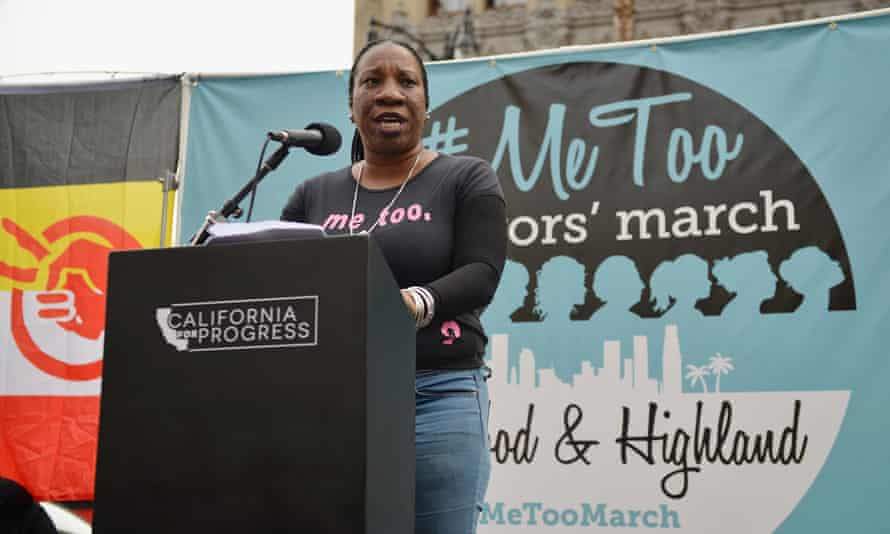 Tarana Burke, the black founder of the #MeToo movement