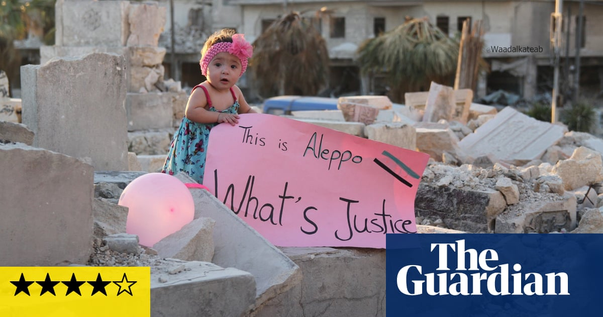 For Sama review – affecting chronicle of life in war-torn Aleppo
