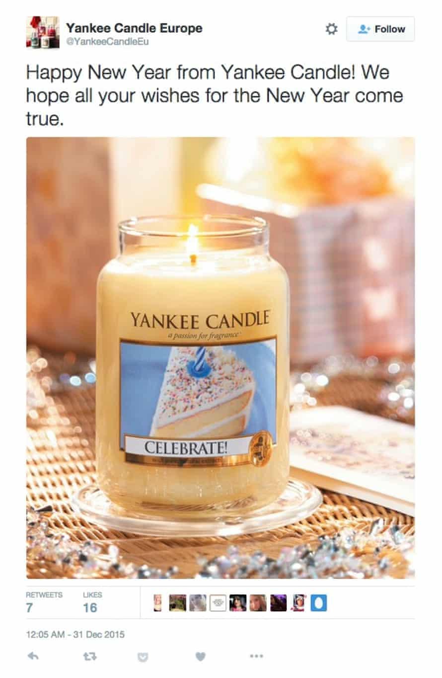 Yankee Candles wish it were 2016 already.