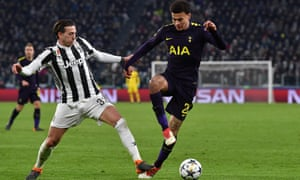 Dele Alli, right, in action here for Tottenham against Juventus, said: 'We're not soft.'