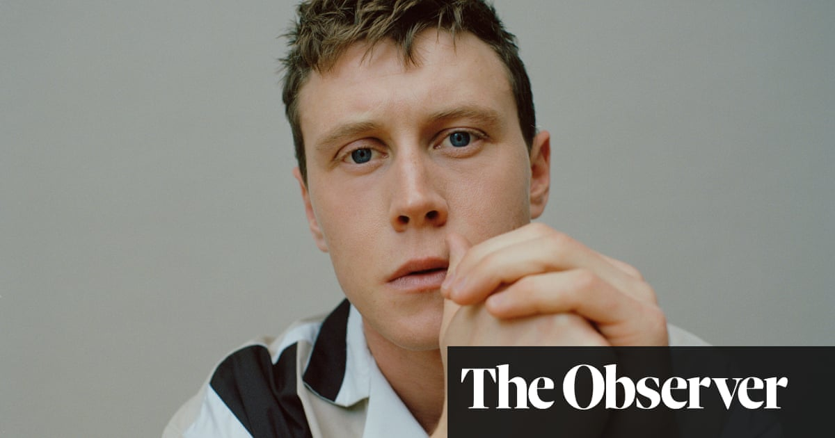 George MacKay: 'I spent lockdown crawling around my flat on all fours'