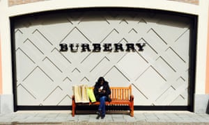 Burberry is among the British brands that Chinese consumers are targeting thanks to the weaker pound.