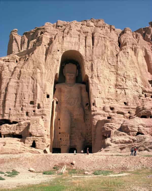 A Bamiyan Buddha that was subsequently destroyed by the Taliban.