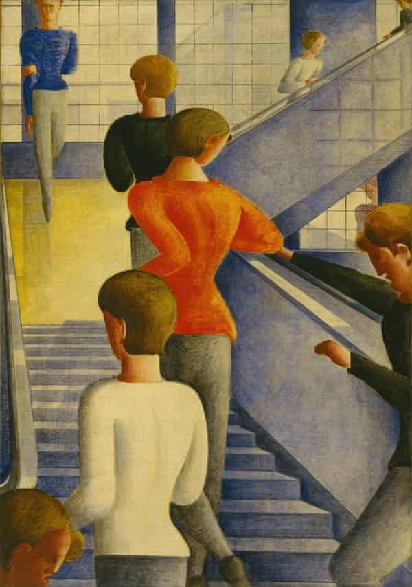 Like living sculptures … Bauhaus Stairway by Oskar Schlemmer.
