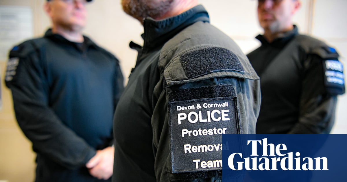 'You can't block the M5': police prepare for mass protests at Cornwall G7 summit