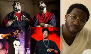 Paper rap writers … Insane Clown Posse, Gucci Mane, Jay Z and the RZA of Wu Tang Clan