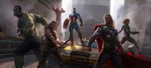 Ryan Meinerding / Keyframe for Marvel's The Avengers 2012 / © 2017 MARVEL