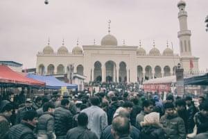 Yiwu's mosque.