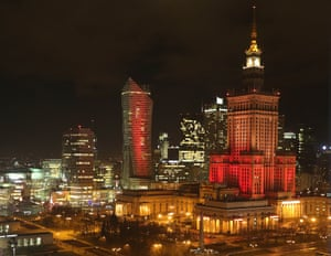 The Palace of Culture, Warsaw, Poland