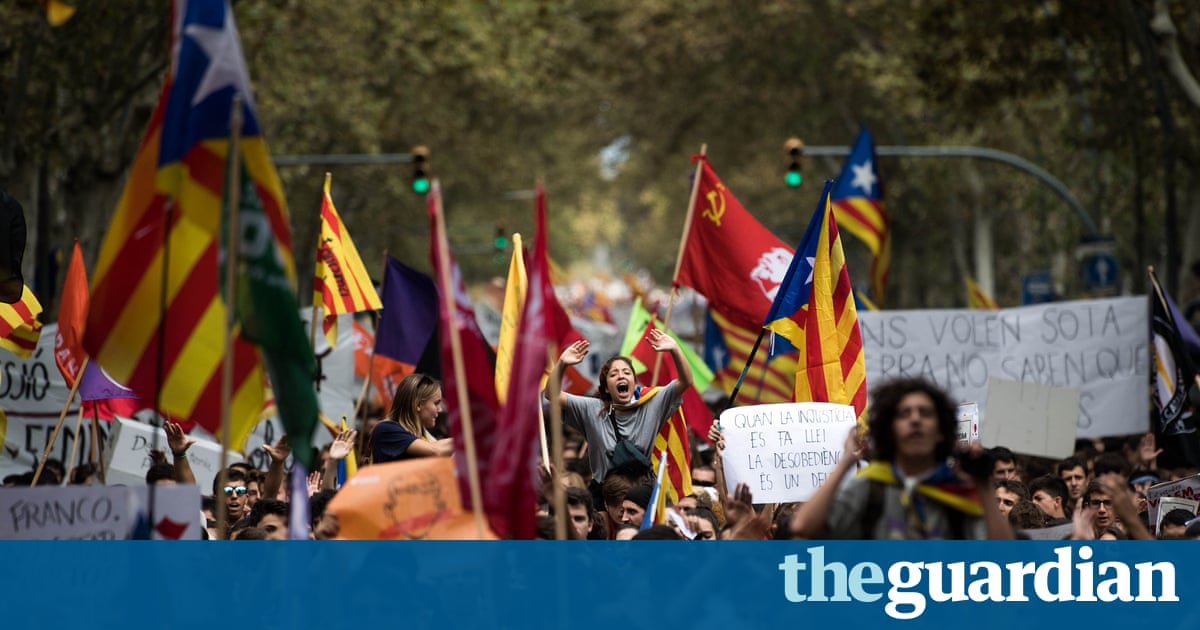 UN rights experts criticise Spanish efforts to block Catalan vote