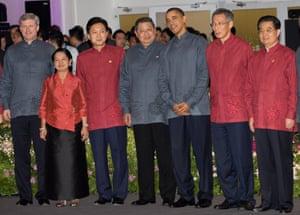 <strong>Singapore 2009:</strong> Leaders including Indonesian President Susilo Bambang Yudhoyono and US President Barack Obama.