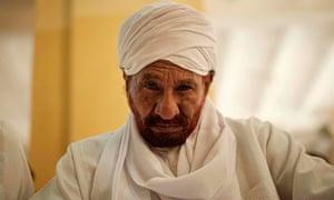 Sadiq al-Mahdi in 2019