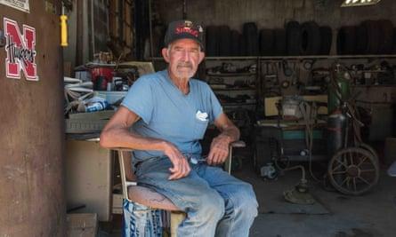 Robert McAdams, 78, of Peru, Nebraska: 'We need to get this country straight again.'