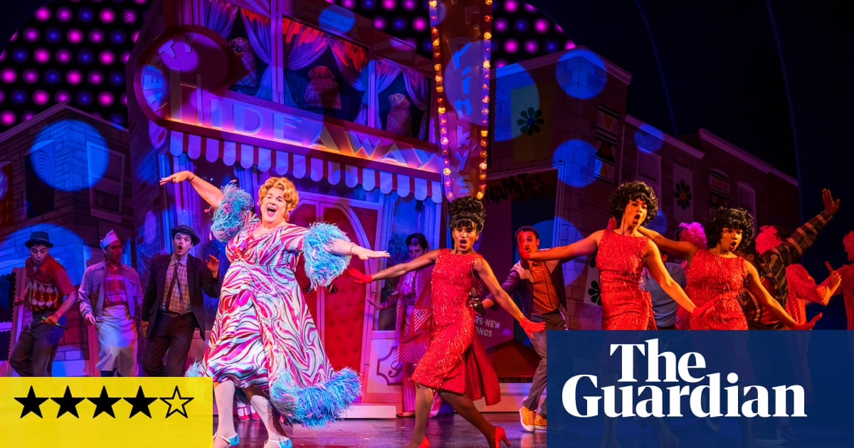 Hairspray review – unstoppably joyous musical lights up the West End