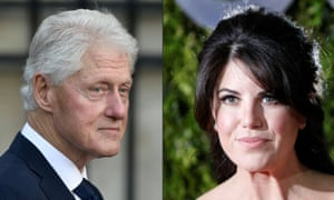 Bill Clinton says his affair with Monica Lewinsky was to relieve stress.
