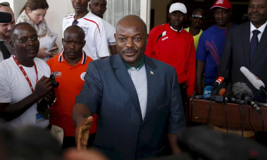 President Pierre Nkurunziza of Burundi.