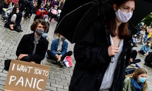 Supporters of the school strike movement Fridays For Future gather in Berlin, Germany, on Friday