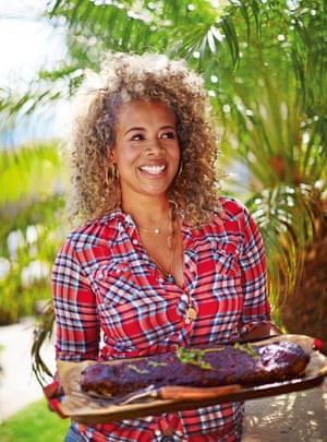 Kelis in a photograph from her book, My Life on a Plate. Photograph: David Loftus