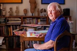 David McKee, author of the Elmer books