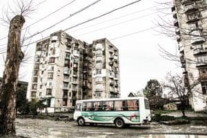 The outskirts of Sukhumi, Abkhazia
