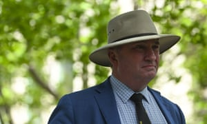 Barnaby Joyce says he has learned from his past mistakes and is the best person to lead the National party to the next election.