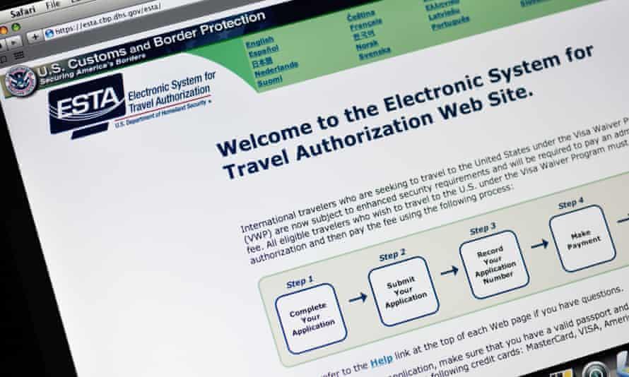 Esta visa waiver site