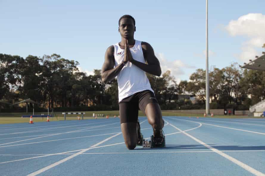 Mangar Makur Chuot training in Perth.