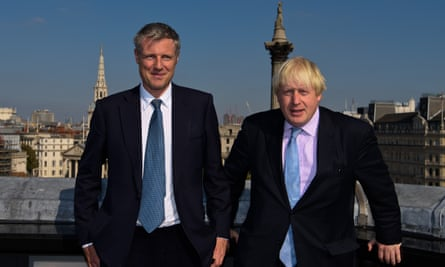 Zac Goldsmith with Boris Johnson