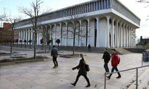 Students at Princeton University.