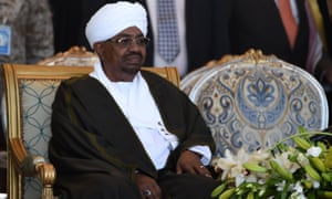 The Sudanese President, Omar al-Bashir, is wanted by the International Criminal Court for war crimes.