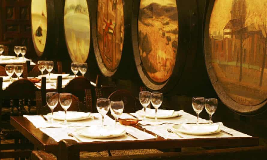 Bodega El Riojano interior