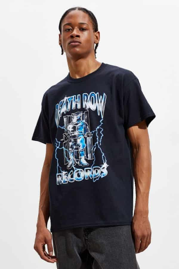 A Death Row Records T-shirt from Urban Outfitters.