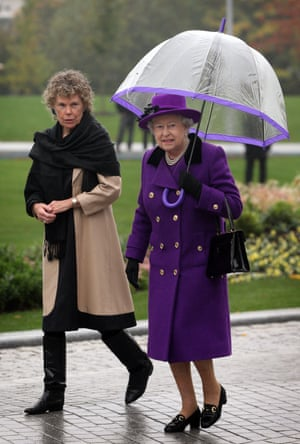 Kate Hoey and the Queen in 2012.