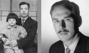 Left: Kameo Yamanaka with his daughter; right; Bill Norways after the war.
