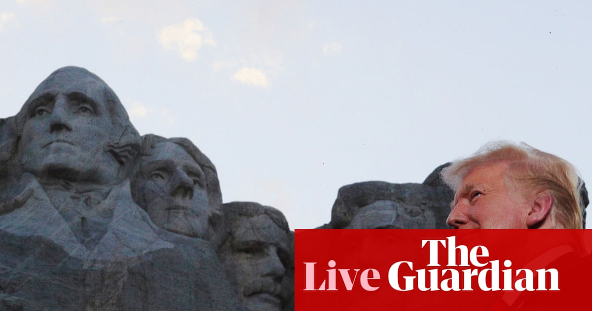 Donald Trump marks Independence Day with incendiary Mount Rushmore speech – live - the guardian