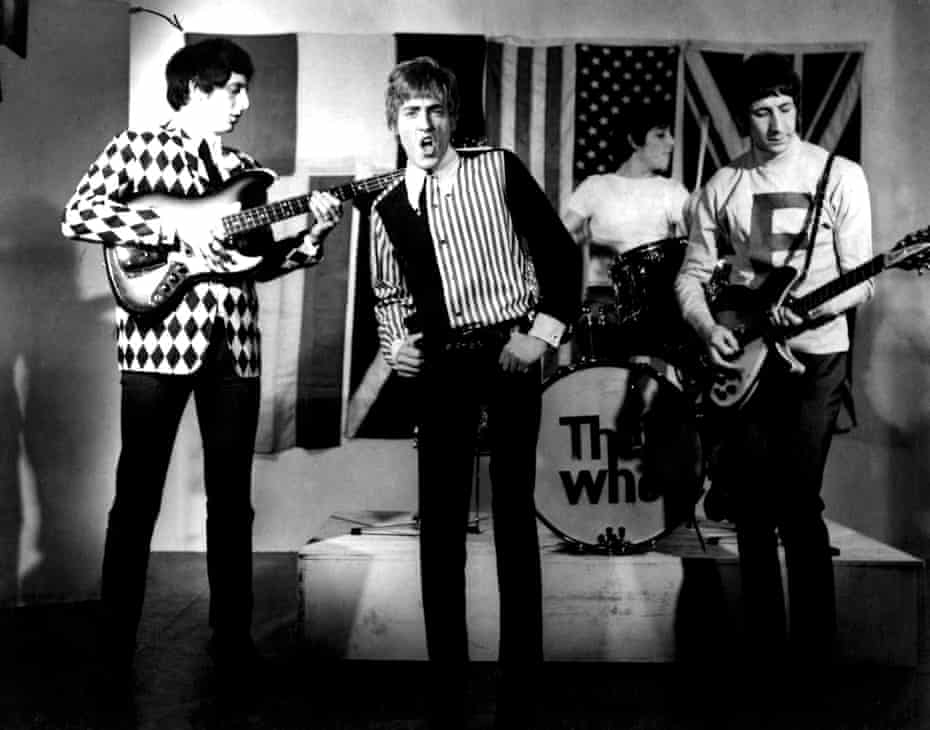 'We changed the face of rock': John Entwistle, far left, with the Who in 1965